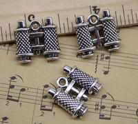 Wholesale telescope jewelry for sale - Retro Ancient Silver Cute Telescope Alloy Charms Pendant Jewelry Making DIY Jewelry Findings Gift x18mm