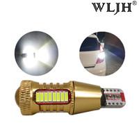 Wholesale W16w Led Bulb - WLJH Canbus Car Light T15 W16W 921 LED Backup Reverse Stop Parking Light Lamp Bulb for Hyundai Verna ix35 Solaris Veloster