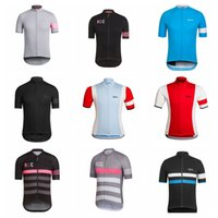 Wholesale bicycle riding shorts men - Men RAPHA Summer Cycling Jersey Short Sleeve Jersey Bicycle Bike Jersey Cycling Clothing Road Mountain Riding Mtb T shirt Male D0905