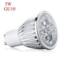 bombillas led ultravioleta al por mayor-Alta calidad 5W GU10 Base UV LED Ultravioleta Proyector LED Bombilla Lámpara para el hogar AC 85-265V conveniente para usar Dropshipping