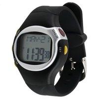 viejos relojes digitales al por mayor-Multifuncional Sensor táctil digital Pulso Monitor de ritmo cardíaco Deportes al aire libre Reloj Hombre Hombres Mujeres Reloj Viejo Para Regalos familiares