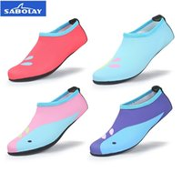 Wholesale surfing wet suits - Children Water Pink Socks Kids Sock Dry Scuba Boot Shoes Anti slip Diving Sock Water Sports Beach Socks Girl Swimming Surfing Wet Suit Shoes