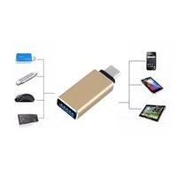 connecteur usb de chargeur mobile achat en gros de-Vente en gros - Nouveau 5 couleurs USB 3.1 Type C Mâle à OTG Data Data Charger Adaptateur Câble Connecteur Convertisseur Pour Tablet Mobile Téléphone En Gros