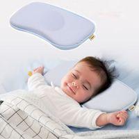 Wholesale bunny pillow - Baby Nursing Pillows Kids Sleep Cushion Bunny Neck Pillows Infant Toddler Sleep Positioner Anti Roll Cushion Flat Head Pillow