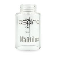 nautilus aspire pyrex glas großhandel-Clear Pyrex Glass Tube Replacement Ersatzglocke für Glassomizer Aspire Nautilus 5ml Zerstäuber und Nautilus Mini 2ml Tank Clearomizer