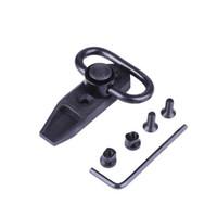 montures pivotantes achat en gros de-Universal Tactical KeyMod Direct Quick Détachement Sling Swivel 360 Degrés Rotation Chasse Sling Pivot Adaptateur Adaptateur De Montage
