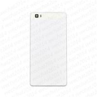 huawei ascend p8 cover оптовых-Новый задняя стеклянная крышка батарейного отсека корпус с клеем +объектив камеры + динамик сетка для Huawei Ascend P8 Lite P9 Lite