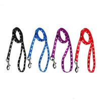 grüne nylonhunde führen großhandel-120 cm Lange Hohe Qualität Nylon Hund Pet Leine Blei für Tägliche Walking 1,0 cm 1,5 cm 2,0 cm 4 Farben