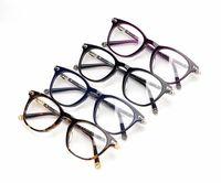 228b0260831 Wholesale clear plastic eyeglass cases online - 2018 Classic Women Round Eyeglasses  Frame Luxury Brand Designer