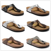 Wholesale cork adhesive - Gizeh Wholesale-Summer slippers for men and women, 2016 new cork bottom flip-flops, sandals with a couple flip flops Mayari 34-46