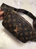 paquet de taille chinoise achat en gros de-Femmes casual taille sac marque designer pack fanny hommes graffiti sport ceinture sacs bandoulière pochette nouveau 2018