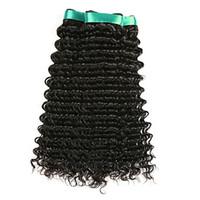 Wholesale buy virgin brazilian hair for sale - Group buy Limited buying Brazilian Virgin Hair Extension Human Remy Hair Weaving a Unprocesed Black Color Deep Wave Hair Extensions