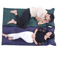 Wholesale air beds mattresses - Outdoor Air Mattress Hiking Travel Camping Mat Water Resistant Thick Sleeping Bed Office Sleeping Pads DDA100