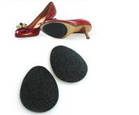 schuhe alleine beschützer groihandel-Anti-Rutsch-selbstklebende Schuhe Matte High Heel Sole Protector Gummi Pads Kissen Rutschfeste Einlage Vorfuß High Heels Aufkleber