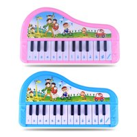 Wholesale mini piano toys - Keyboard Musical Instruments Toy Piano Electronic Learning Education Toys for Children