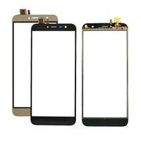mobil dokunmatik ekran sensörü toptan satış-Cubot X18 Için iyi kalite TP Dokunmatik Ekran Lens Sensörü 5.7 inç Dokunmatik Panel Değiştirme Cep Aksesuarları + Araçları x 18