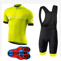 Wholesale Cube Mtb - 2018 CUBE Pro Men Team ropa Cycling Clothing Bicycle Clothes Sportwear mtb bike Bib Shorts Set clothing maillot
