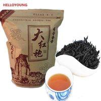 ingrosso borse cinesi rosse-Preferenza 250g organico cinese Tè nero grande abito rosso di Oolong Tè rosso Salute New tè cotto Green Food (due tipi di borse sono in modo casuale