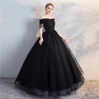 Black White Corset Wedding Dresses Canada Best Selling Black White