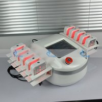 Wholesale Cellulite Reduction Equipment - Good Results High power lipolaser lipo laser slimming machine beauty equipment 10 big pads laser cellulite reduction machine