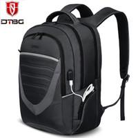 ports macbook Australia - DTBG Durable Laptop Backpack 15.6 Inch with USB Port Casual Travel Rucksack College School Bag 15 - 15.6 Inch Notebook Backpacks