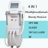 interruptor vertical al por mayor-Descuento ahora! Ipl máquina de rejuvenecimiento Vertical Q Switch láser tratamiento de la piel para los filtros de acné shr con Elight RF