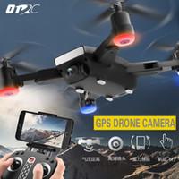 ingrosso mini gps wifi della macchina fotografica-Mini S9 Folden GPS RC Drone FPV Quadcopter grandangolare 720 P HD WIFI Camera Altitude Hold Intelligent Battery Aircraft