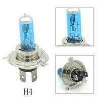 Wholesale super bright h4 bulbs - 2pcs car lights H1 H3 H4 H7 H11 9005 9006 100W 6000K Super Bright White halogen lamp bulb fog light 12V Cars DRL Car Headlamp