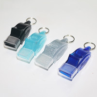 Wholesale Outdoor Sport Lifesaving Whistle Dolphin Whistles Referee Special Football Basketball Whistling Multicolor Independent Packaging ph ggWW