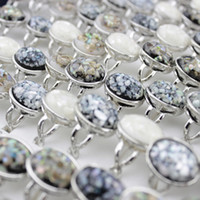 Wholesale silver rings for women prices resale online - Mix Color pieces Silver Plated Fashion Trendy Simple Finger Ring Jewelry for Women Cheap Factory Price
