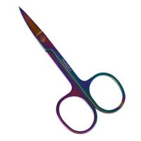 ingrosso forbici sopracciglia della signora-Hot Rainbow Scissors Sopracciglio Manicure Colorful Scissors Cutter Nail Strumento per il trucco Donna Lady DIY Mankeup Fashion Equipment