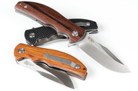 Wholesale pocket wood resale online - Zero Tolerance Folding Pocket Tactical Knife C HRC Blade Wood Handle Flipper ZT06060CF EDC Hunting Knives Inch Closed P279F