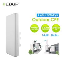 Wholesale indoor wifi antennas - EDUP High Power 300Mbps 2.4Ghz Wifi Bridge 14dBi Antenna Access Point Indoor Outdoor CPE