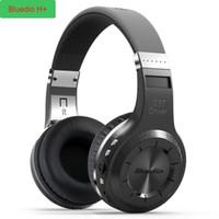 Wholesale super bass mp3 player for sale - Original Bluedio H Bluetooth Stereo Wireless headphones Super Bass Music Mp3 Player Headset with Mic FM BT4 headphones
