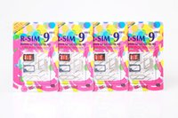 Wholesale pro gsm - Original R-SIM 9 RSIM9 R-SIM9 Pro Perfect SIM Card Unlock Official IOS 7 7.0.6 7.1 ios7 RSIM 9 for iphone 4S 5 5S 5C GSM CDMA WCDMA 3G 4G