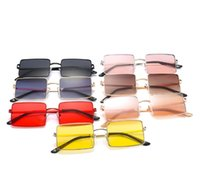 Wholesale colorful square sunglasses women for sale - Group buy Fashion large square sunglasses Colorful Mirror Lenses gold wire Metal Polygon Eyeglasses Motorcycle Riding Glasses UV400 Sunglasses LJJG7