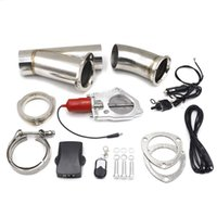 Wholesale remote control exhaust - CNSPEED 3 inch Exhaust Control Valve Electric Exhaust Cutout Remote Manual Toggle with Switch Control Kit