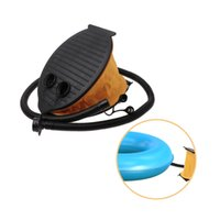 Wholesale foot bedding resale online - OOTDTY Outdoor Portable Foot Air Pump Bed Boat Ball Multifunctional Inflator Camping