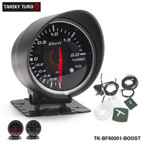 Wholesale Gauge - Tansky -- METER GAUGE OF CARS Defi 60MM BOOST GAUGE (light:red&white) Black Bracket original color box TK-BF60001-BOOST