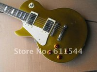 Wholesale Left Handed Musical Instruments - left hand custom 1959 goldtop custom shop electric guitar free shipping top musical instruments