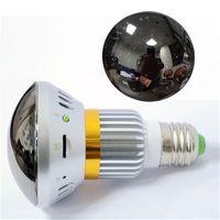 Wholesale bulb cctv security dvr camera resale online - 1 CMOS Sensor IR Cut Night Vision Bulb Security Home Camera CCTV DVR Camera Backup Battery Function Support GB Storage