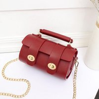 Wholesale Factory Technology - Factory outlet brand new package technology Matt jelly packets summer new lock cylinder all-match woman woman handbag chain bag