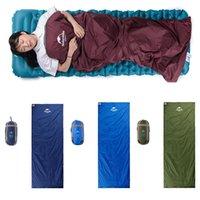 tasarım uyku tulumu toptan satış-Mini Zarf Tasarım Uyku Tulumu 3 Mevsim Seyahat için Ideal Sırt Çantası Kamp Yürüyüş ve Diğer Açık Hava Etkinlikleri Gibi Freeshipping H223Q
