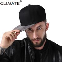 Wholesale baseball skins - CLIMATE 2017 New Snake skin Leather Hip Hop Dancer The Rapper 3 Snapback Caps Solid Blank Hip Hop Men Dancer Baseball Caps Hats