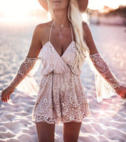 Wholesale lead powder online - Varied Clothes Method V Lead Reveal Back Sexy Bandage Rhinestone Shimmering Powder Lin Tai Pants clothing ladies dresses woman