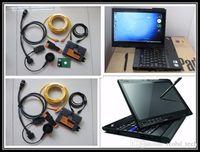 escáner automotriz portátil al por mayor-herramientas de escáner automotriz para bmw icom a2 con 500 gb hdd con herramienta de programador de diagnóstico de laptop de pantalla táctil x200t para bmw