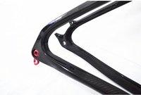 tilete de fibra de carbono cheio de 3k venda por atacado-Completa de fibra de carbono MTB quadro da bicicleta Montanha quadro 9-9 ou 9-7 ou 9-6 3K brilhante ou fosco espigão haste haste