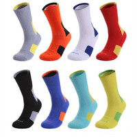 Wholesale professional hiking for sale - Group buy Professional Sports Basketball Sock Running Fitness Cycling Soccer trainning Socks Breathable elastics Cotton Camping jogging fishing Sock