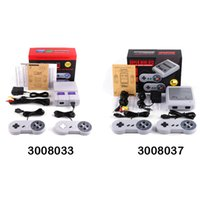Wholesale Big Cats - Super Famicom Mini Classic SFC TV Handheld Game Console Entertainment System Buit-in 400 Classic games SFC Games Console Xmas Gift 3008033