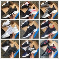 Wholesale future cotton - New Arrival Ultra Boost EQT Support Future 93 17 White black pink Man women sport shoes Sneakers Running Shoes Size 36-45